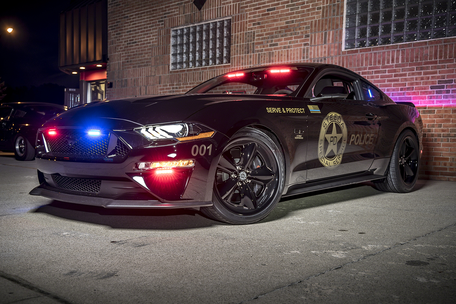 Specs Of 2020 S Pursuit Rated Police Fleet Vehicles The Steeda Special Service Mustang Officer